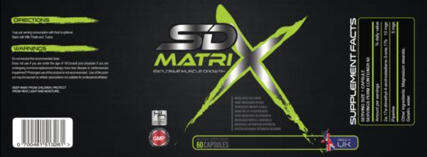 SD Matrix Prescription