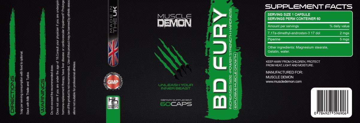 bd fury label