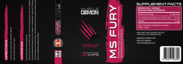 MS Fury - Methylstenbolone Prescription